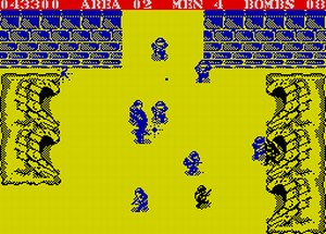 Commando - gra na ZX Spectrum