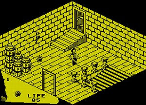 Fairlight - gra na ZX Spectrum