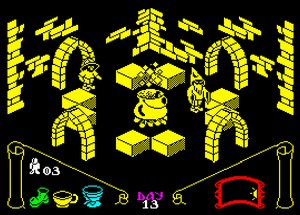 Knight Lore - gra na ZX Spectrum