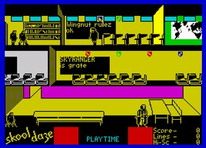 Skool Daze - gra na ZX Spectrum