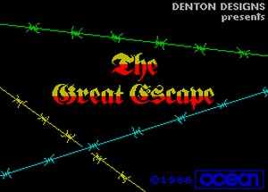 The Great Escape - gra na ZX Spectrum